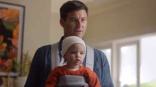Advert featuring Clarke Gayford and baby Neve has been banned from TV in Australia