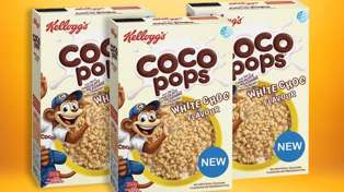 Kellogg's have launched a white chocolate Coco Pops flavour!