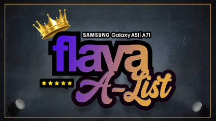 The Flava A-List Takeover: One Celeb, 5 Songs!