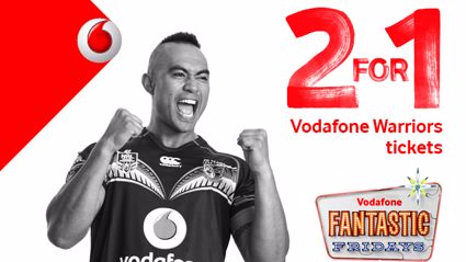 Win Double Passes to the Warriors Thanks to Vodafone Fantastic Fridays