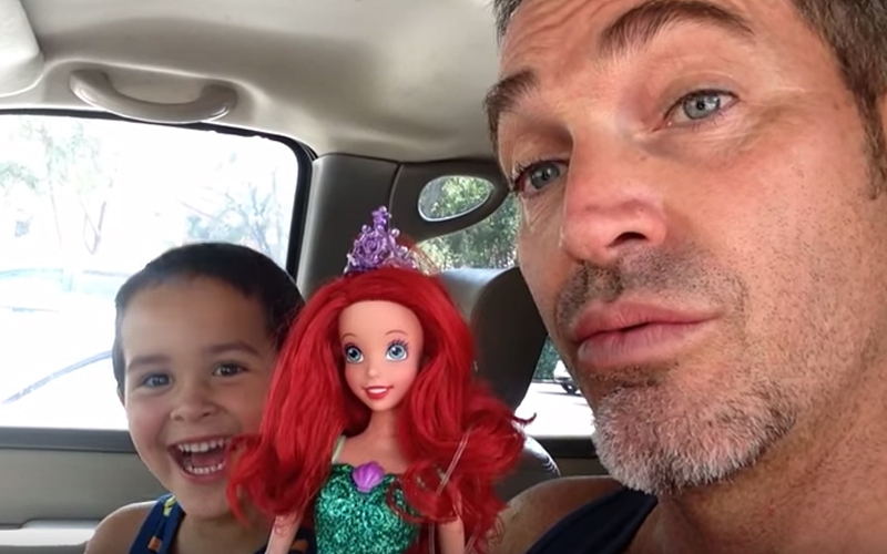 Watch What Father Has To Say About Son Exchanging His Toy For A Barbie Doll