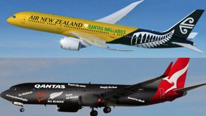 Air New Zealand Challenge Qantas Over Rugby World Cup Final