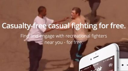 'Rumblr' An App Like Tinder Except For Fighting Hoax