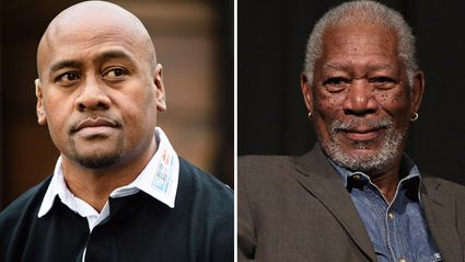 Morgan Freeman Shares Jonah Lomu Inspired Message
