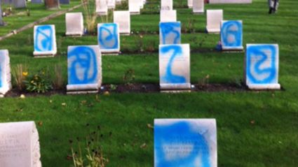 Shocking Graffiti Attack On Anzac War Graves
