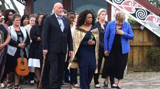 Oprah Winfrey Dines At Masu In Auckland