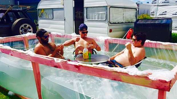 Kiwis make epic homemade pool in 30 minutes for Epic pool show