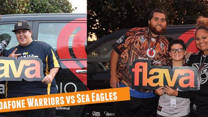 Vodafone Warriors Vs Sea Eagles
