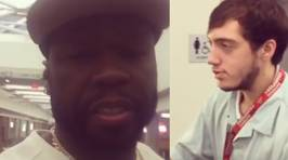 50 Cent Harasses Innocent Airport Employee in Instagram Video
