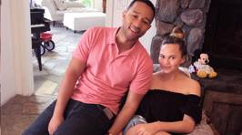 Chrissy Teigan and John Legend Show off Baby Luna in New Photos