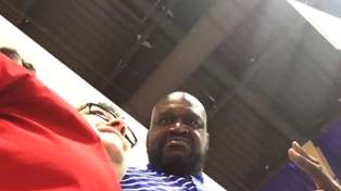 Watch Shaq Bust this Guy for Secretly Filming Him